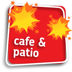 Cafe and patio